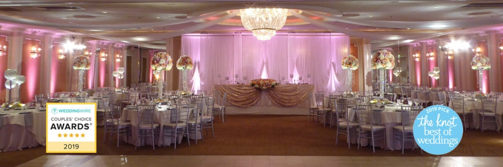Best of Chicago Wedding venues. Astoria is all-inclusive style decor, ceremony and reception.