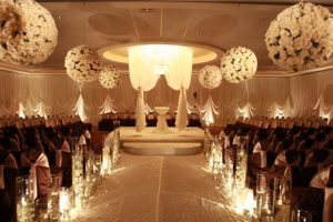 Astoria Banquets, Wedding Venue, Best of Banquets Halls, Wedding Wire, Knot, Event Space, Chicago and Suburbs, ceremony in gold
