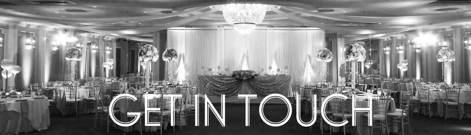How to contact Astoria Banquets for a visit to create a custom package for your event.