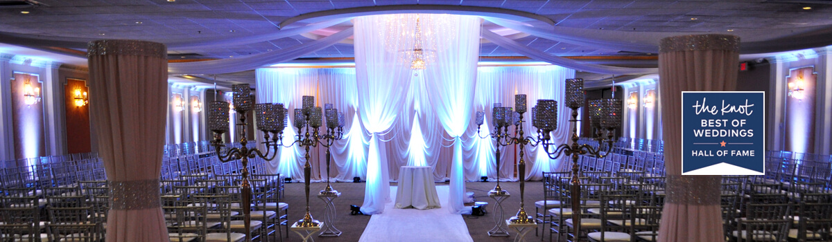All inclusive style wedding ceremony and reception venue in Chicago by Astoria Banquets